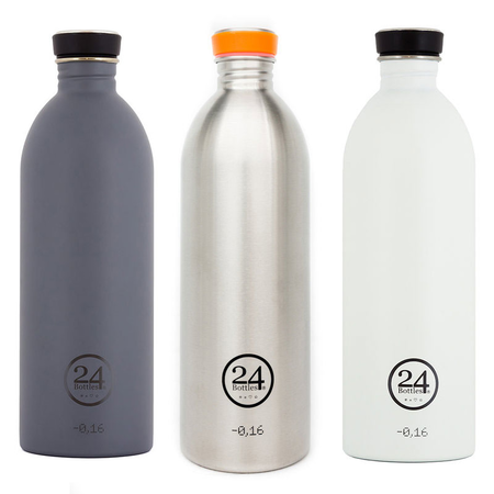 24Bottles Edelstahlflasche Be Urban, Be Green Edition 1 Liter