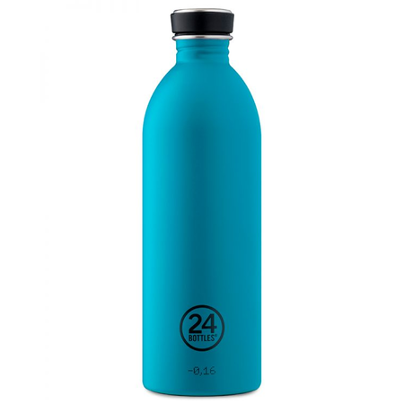 24Bottles Edelstahlflasche Be Urban, Be Green Edition 1 Liter Atlantic Bay