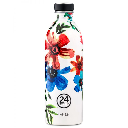 24Bottles Edelstahlflasche Be Urban, Be Green Edition 1 Liter May